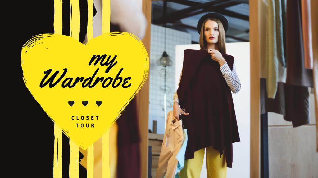 Fashion Blog Promotion Woman by Wardrobe — Create a Design