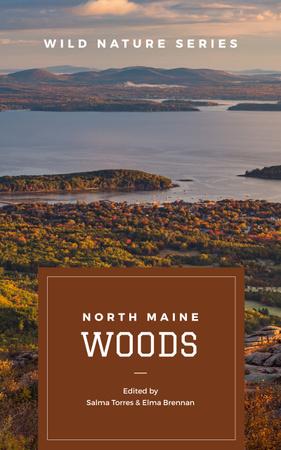 Template di design Nature Landscape at Sunset Book Cover