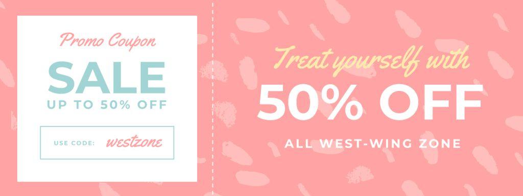 Discount Offer on Pink Pattern - Vytvořte návrh