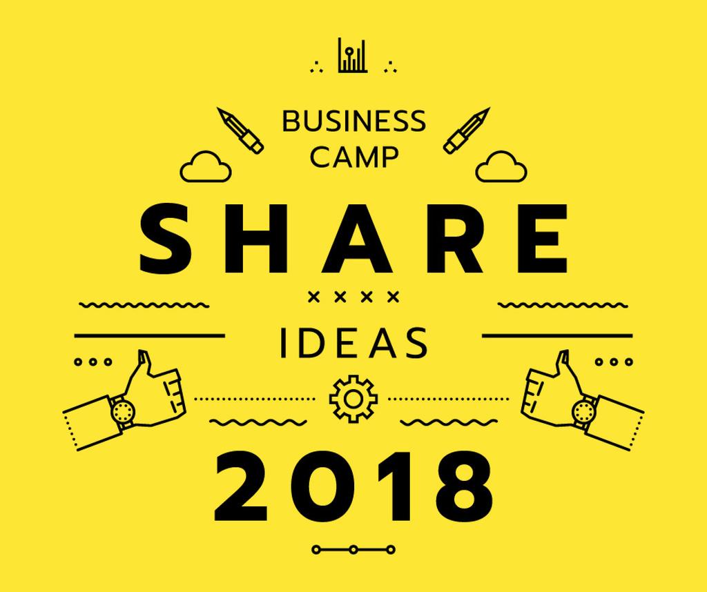 Business camp announcement — Create a Design
