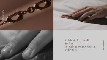 Jewelry Offer on the Valentine's Day with Couple of Soulmates