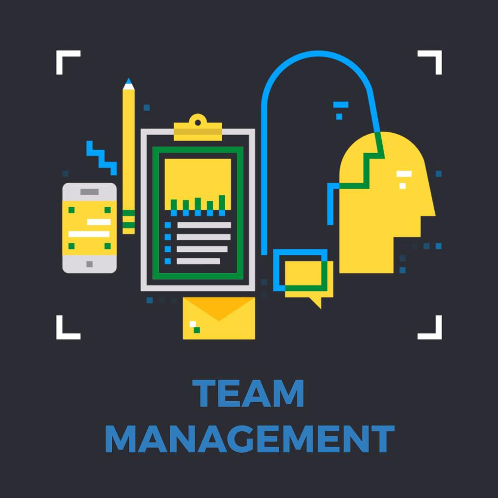 Business management icons — Crear un diseño