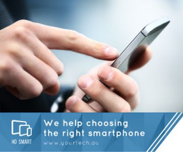 Choosing the right smartphone banner