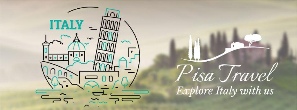 Pisa famous travelling spots — Create a Design