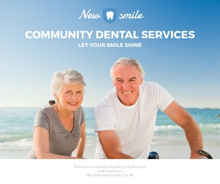 Plantilla de diseño de Dental services for elder people Facebook