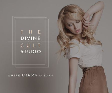 Template di design The Divine Cult Studio Medium Rectangle