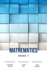 Mathematics Lessons Cubes in Blue Gradient Color