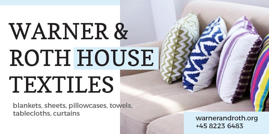 House Textiles Offer — Crear un diseño