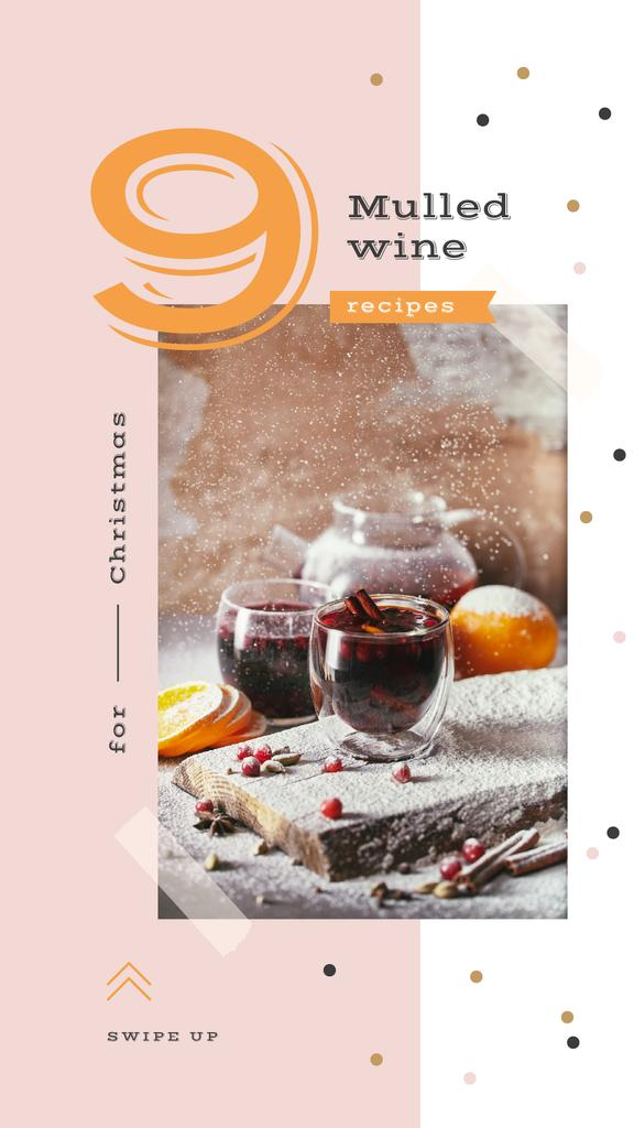 Red mulled wine — Crear un diseño