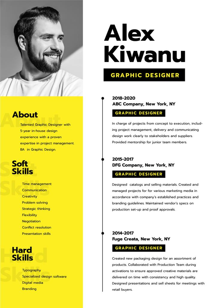Professional Designer skills and experience — Créer un visuel