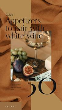 Winery Offer White Wine with Fruits