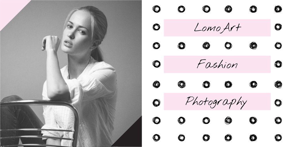 Fashion photography banner — Создать дизайн