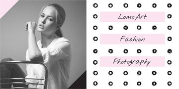 Fashion photography banner