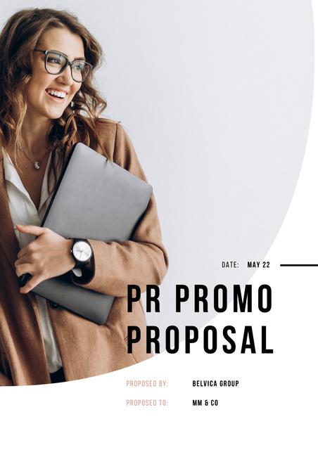 Plantilla de diseño de PR agency services information Proposal