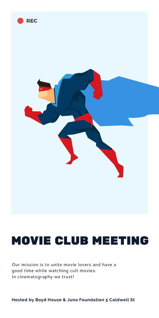 Movie club meeting — Создать дизайн