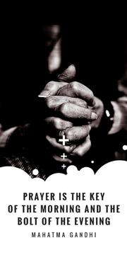 Hands Clasped in Religious Prayer