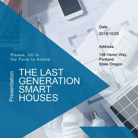 Plantilla de diseño de Smart Home project and gadgets Instagram AD