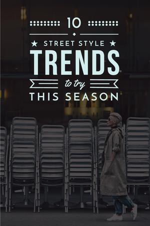 Template di design Street style trends Pinterest
