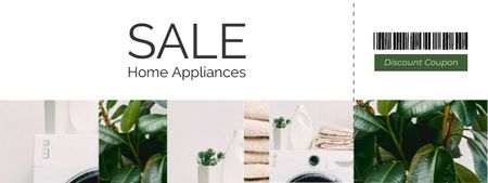 Home Appliance offer Coupon Tasarım Şablonu