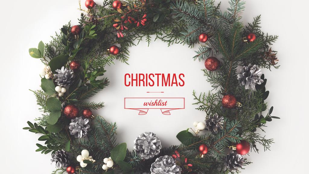 Christmas wish list — Create a Design