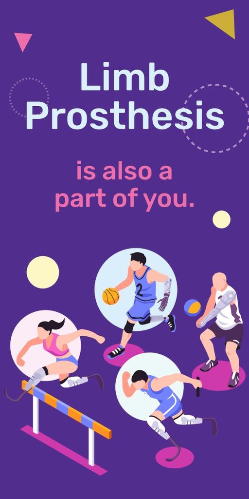 Sportive people with prostheses — Modelo de projeto