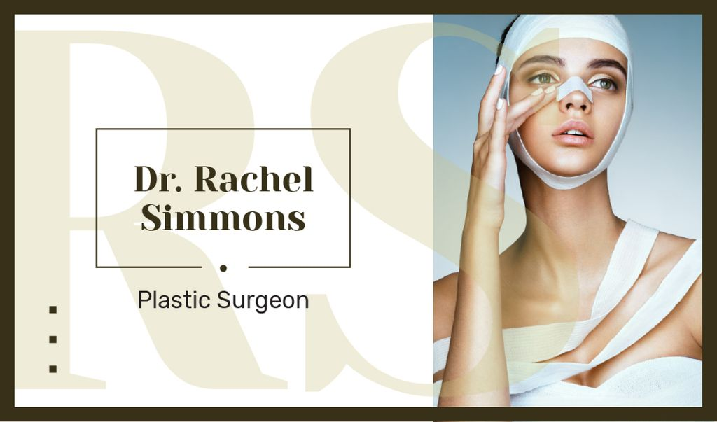 Woman at plastic surgery clinic — Create a Design