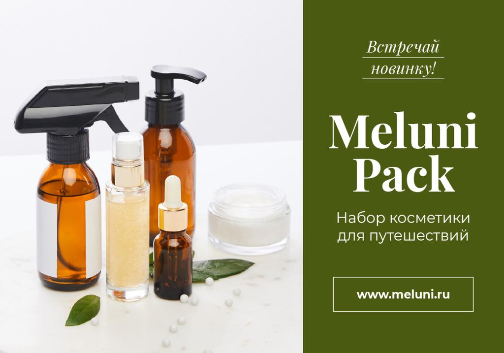 Cosmetics Travel Kit offer — Modelo de projeto