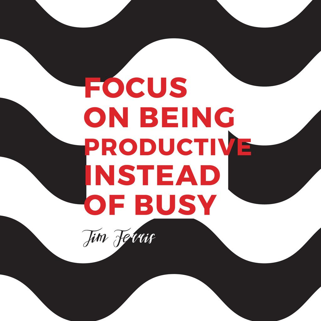 Citation about productivity for everyone — Create a Design