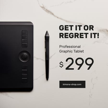 Plantilla de diseño de Business Graphic Tablet Ad Instagram