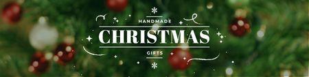 Handmade Christmas gifts Twitter Modelo de Design