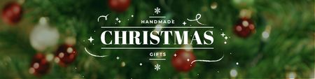 Szablon projektu Handmade Christmas gifts Twitter