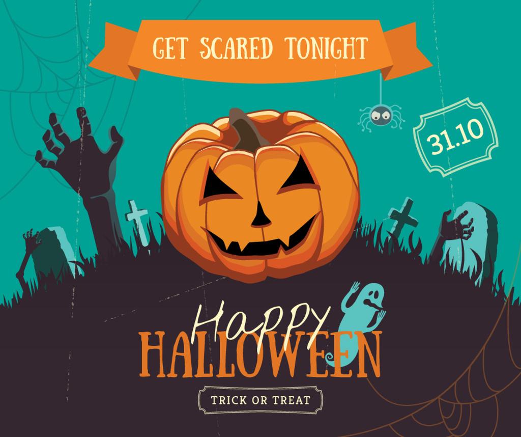 Halloween holiday poster — Створити дизайн