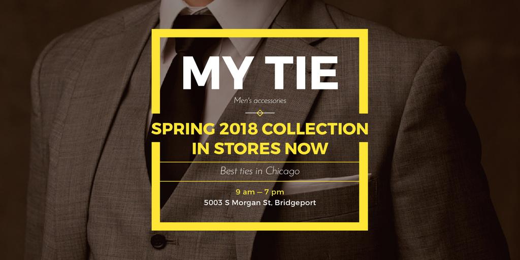 My tie store in Chicago — Créer un visuel