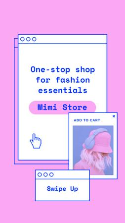 Template di design Online Fashion store offer Instagram Story
