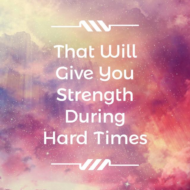 Ontwerpsjabloon van Instagram AD van Motivational Quote on Sun Rays in Pink Sky