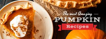 Pumpkin recipes poster