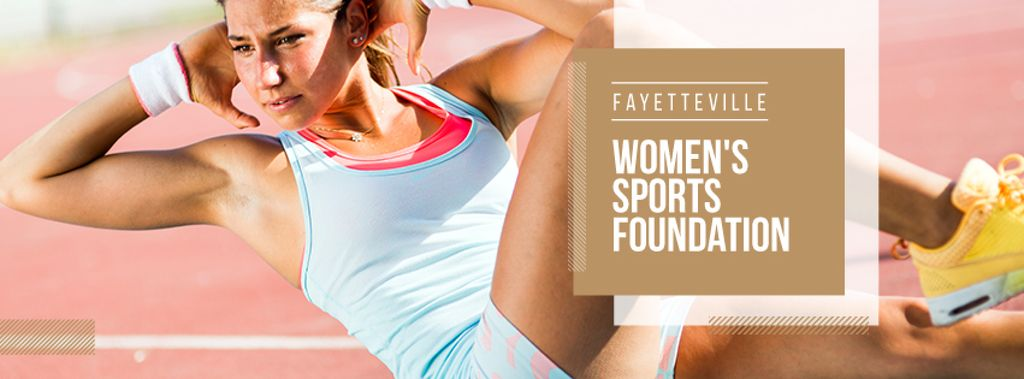 Womens sports foundation poster — Modelo de projeto