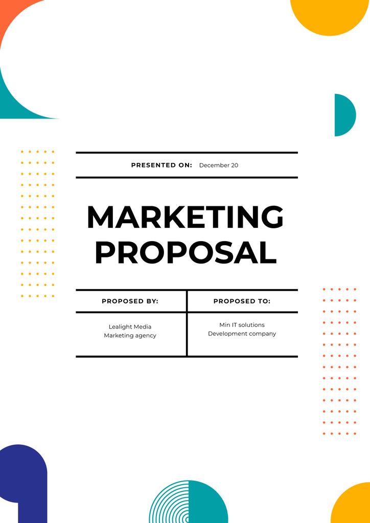 Marketing agency services offer — Créer un visuel