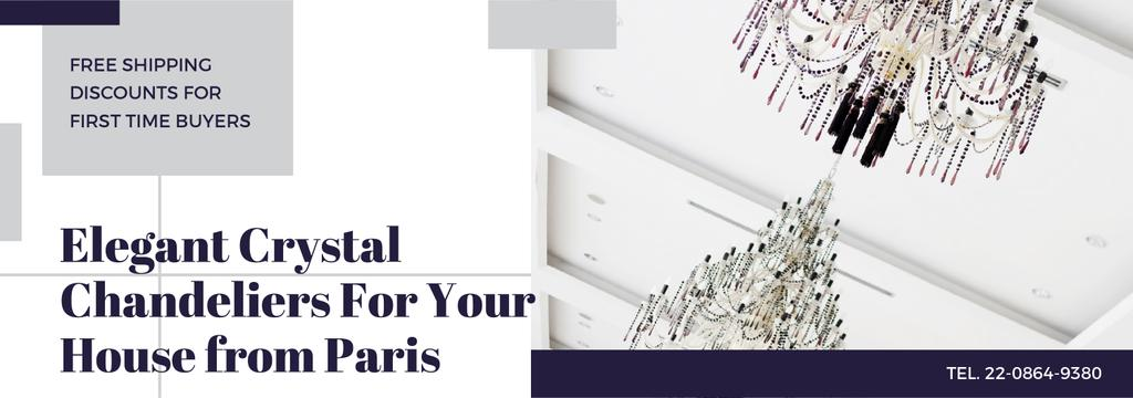 Elegant crystal Chandeliers offer Tumblr Design Template