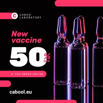 Vaccine Offer Medication In Glass Ampoules