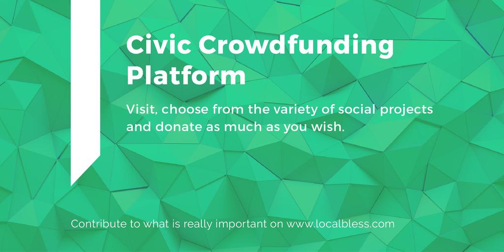 Civic Crowdfunding Platform — ein Design erstellen