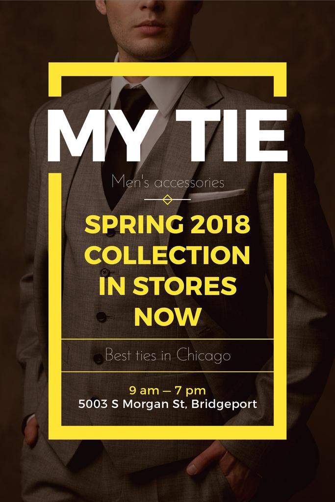 My tie store in Chicago — ein Design erstellen