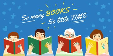 So many book so little time poster
