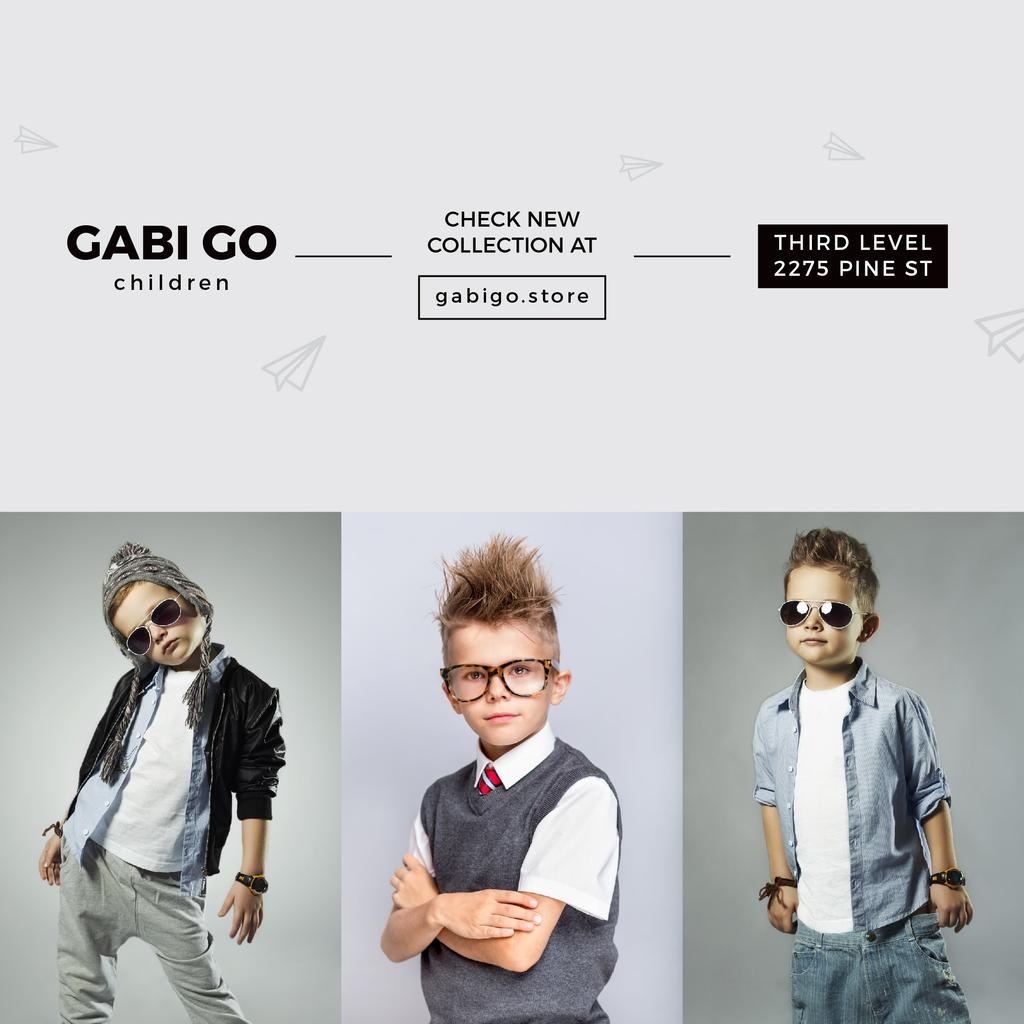 Gabi Go children clothing store — Create a Design