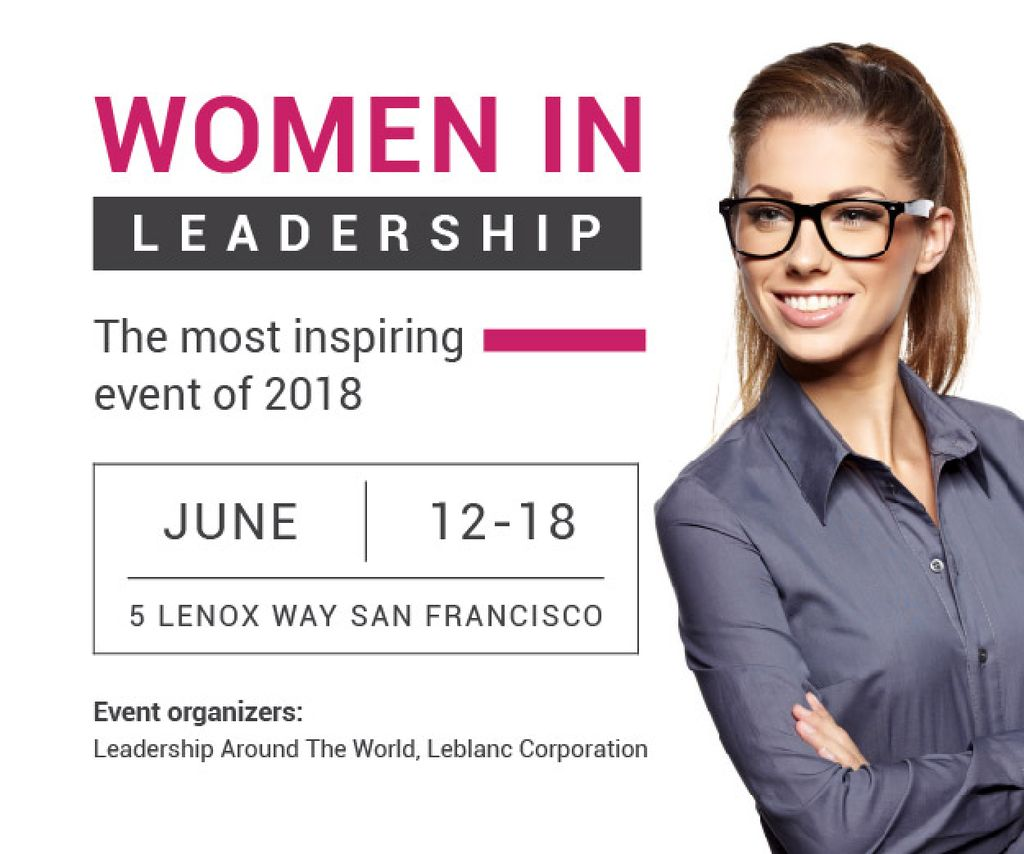 Women in Leadership event — Create a Design