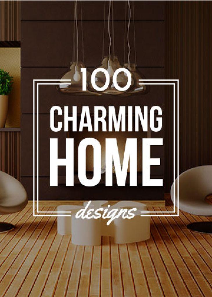 Home decor Interior Design ideas Flayer – шаблон для дизайна