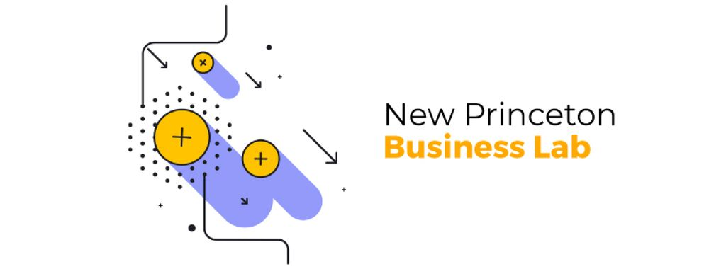 Business lab promotion Moving geometric figures — Создать дизайн