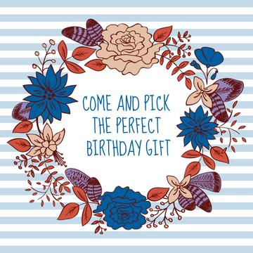 Birthday gift poster