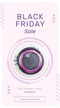 Black Friday Sale Robot vacuum cleaner