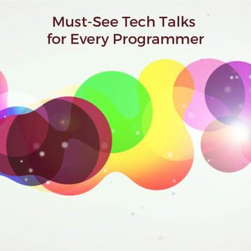 Moving colorful blots and circles